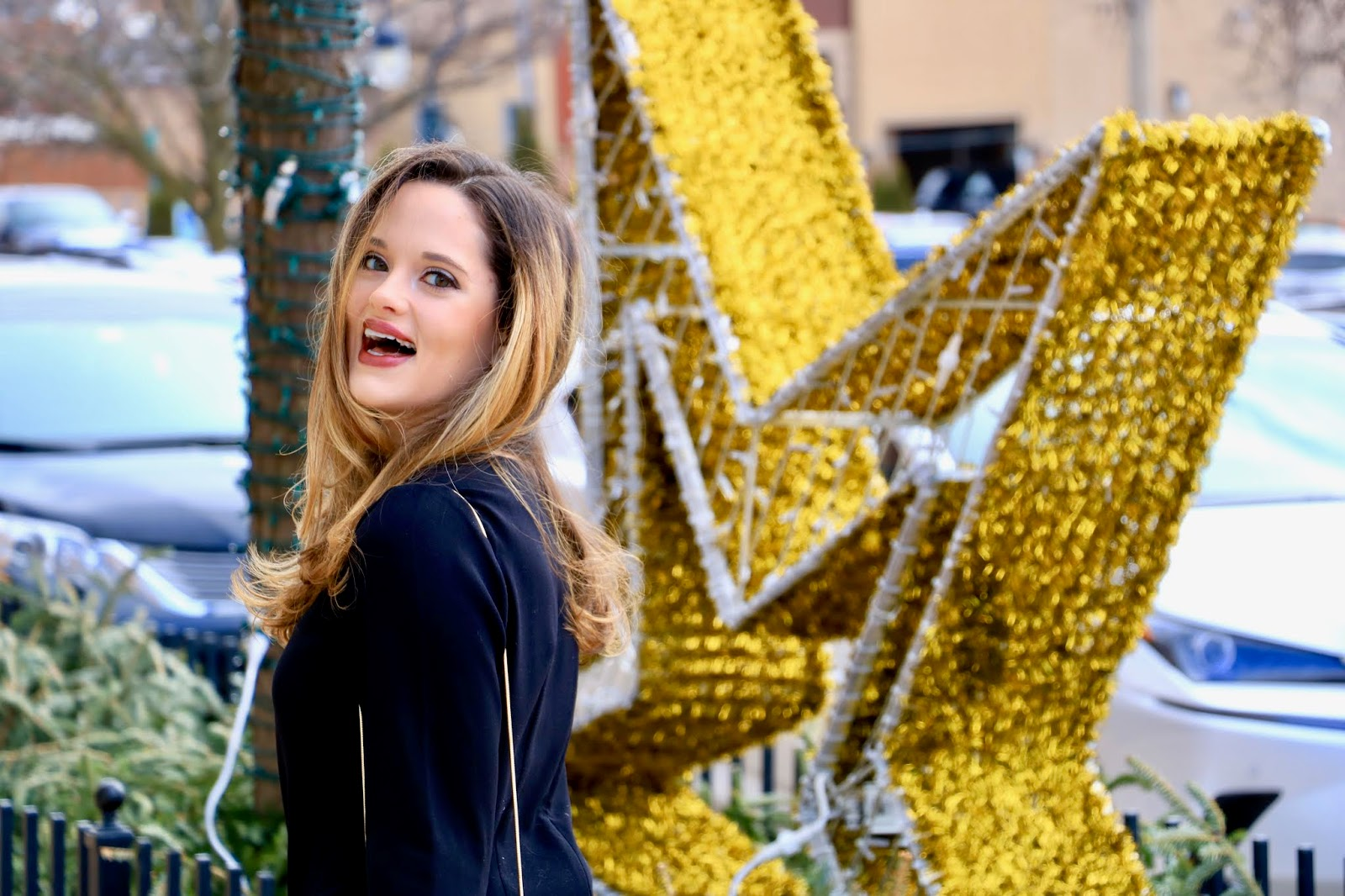 Nyc fashion blogger Kathleen Harper on New Year's Eve