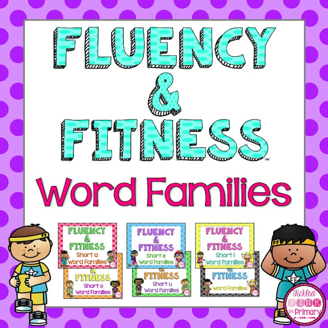 Word Families - Fluency and Fitness