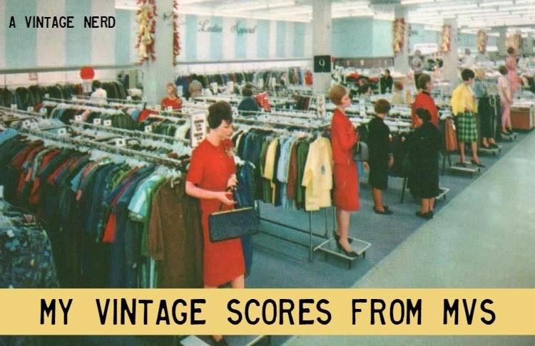 A Vintage Nerd, Vintage Blog, Vintage Haul, Manhattan Vintage Show, Vintage in New York