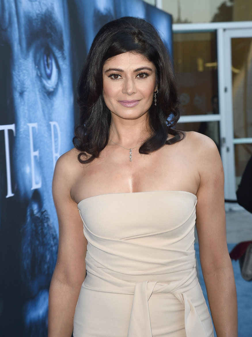 Pooja Batra at The Premiere Of HBO's 'Game Of Thrones' Season 7 at Walt Disney Concert Hall