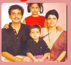 Jayanth Kaikini with children