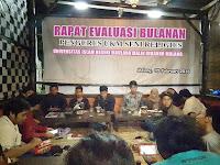 Rapat Evaluasi Bulanan Pengurus UKM Seni Religius