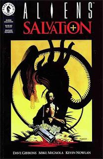Aliens salvation Mike Mignola