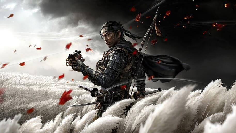 Ghost of Tsushima, Samurai, 4K, #5.1574