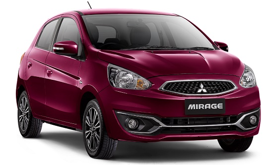 mitsubishi new mirage surbaya