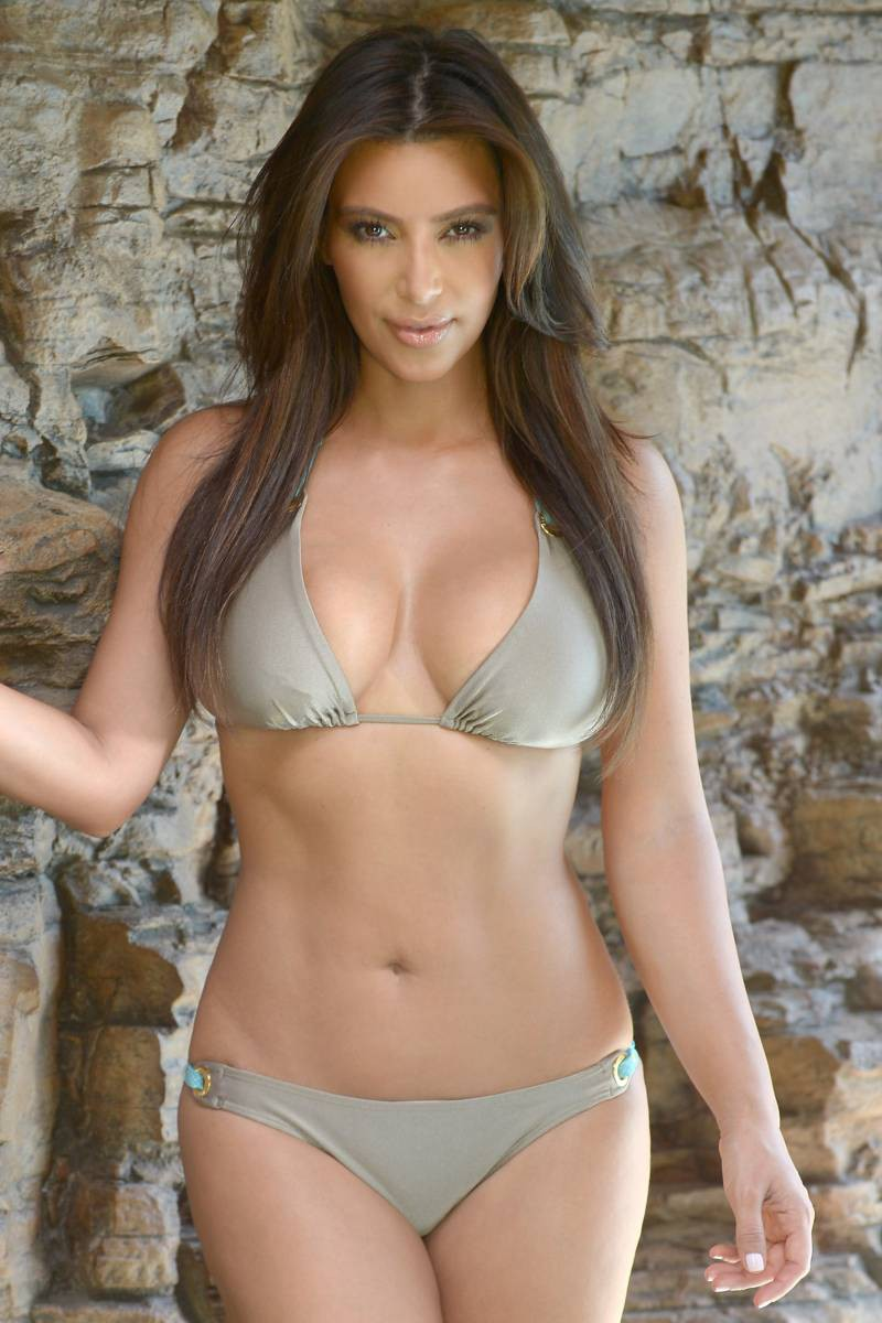 Hot Photos Kim Kardashian Hot Bikini Photos-7698