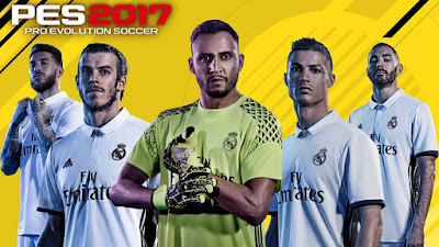 REAL MADRID STARTSCREEN PES 2016