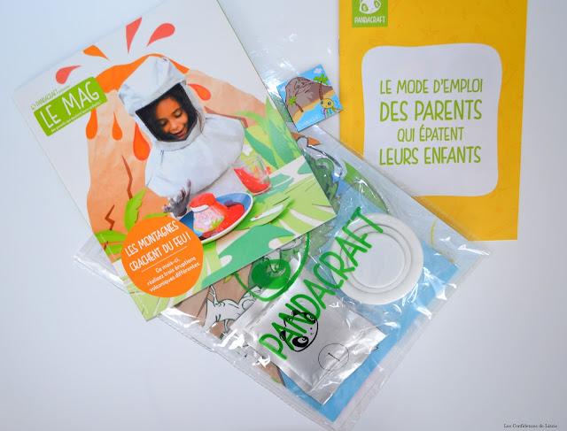 jeu - activité ludique - activité créative - activité manuelle - box pour enfants - enfants - connaissances - volcans