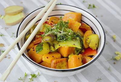 Schnelles Gemüse-Curry mit Kokos