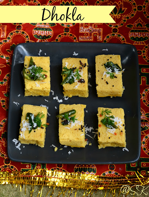 Kaman Dhokla - Instant Breakfast Series - Step by step