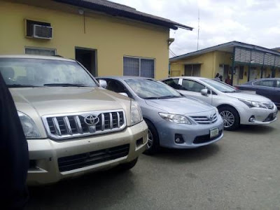 See 17 Exotic Vehicles Recovered From Former Senior Officials Of FAAN (Photos)