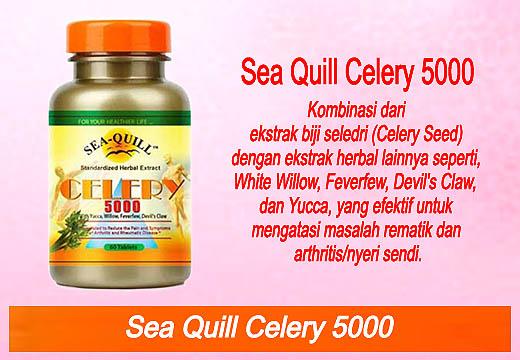 Obat asam urat kombinasi dari ekstrak biji seledri dengan ekstrak herbal lainnya yang efektif untuk mengatasi rematik dan nyeri sendi.