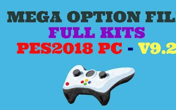Mega Option File | V9.2 | DLC1.0 | PES2018 | Released [26.10.2017]
