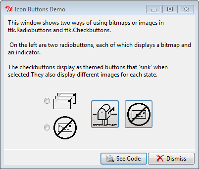 Py In My Eye: Tkinter Icon Buttons Demo