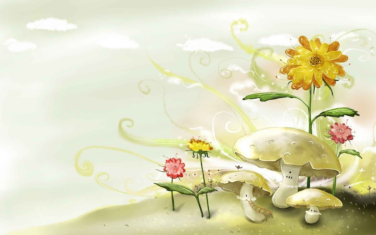 Digital Drawing Widescreen HD Wallpaper 13