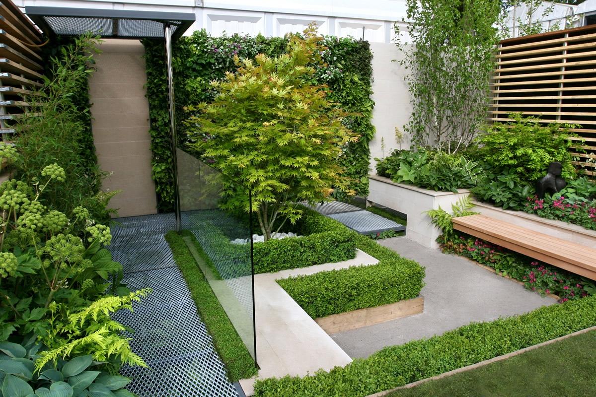 Bequemes Warmes Garten-Design - Modern Ideen Gartendekoration - de-haus