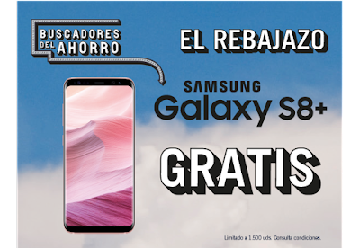 Samsung Galaxy S8+ gratis The Phone House
