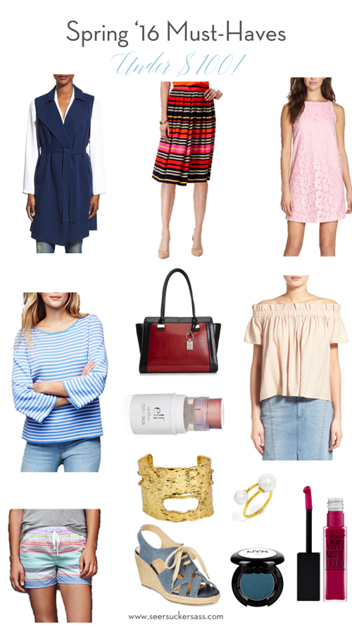 Spring '16 Trends Under $100 (+ Spring Fling Linkup Announcement!)