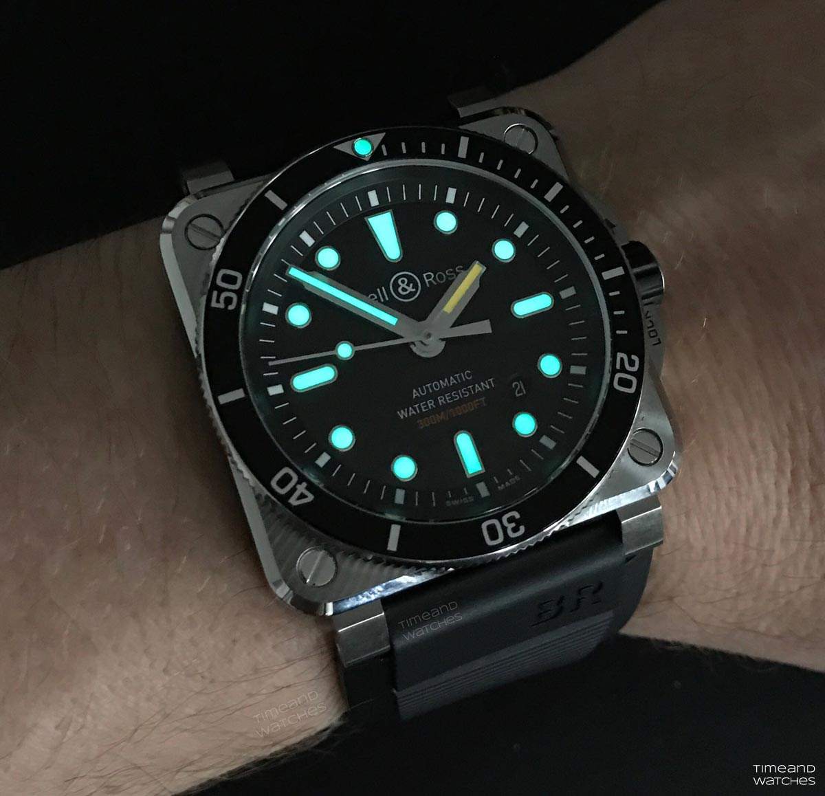 Bell Amp Ross Br 03 92 Diver Time And Watches