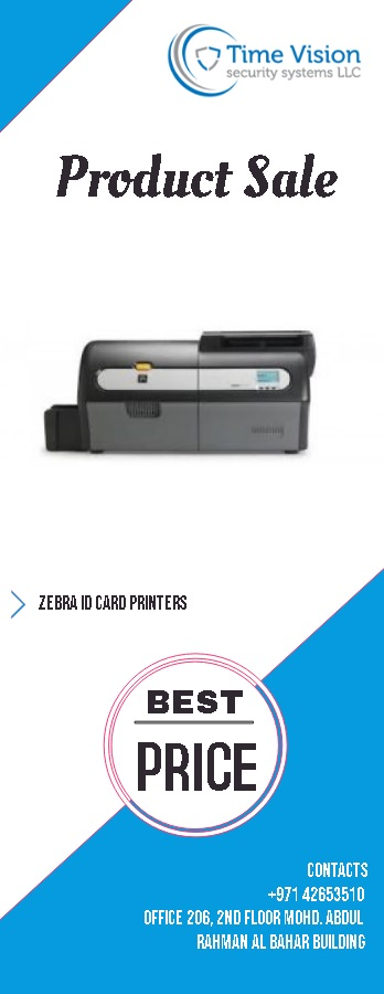 Zebra best Id card printers in dubai