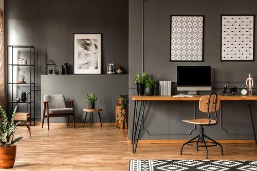 08. Interior Rumah Minimalis dengan Nuansa Industrial