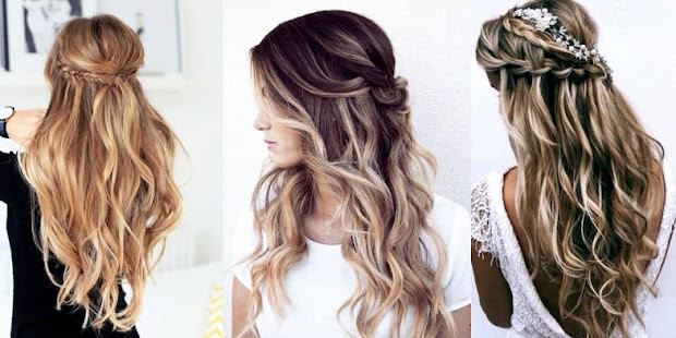 bridal hairstyles with balayage