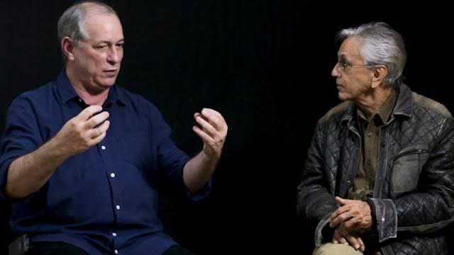 TSE rejeita pedido do PDT para retirar vídeo de Ciro com Caetano sobre socialismo