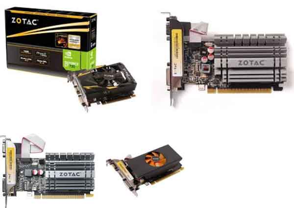 ZOTAC GeForce tipe GT 730 - vga gaming yang murah terbaik di bawah 1 jutaan (500 ribuan)