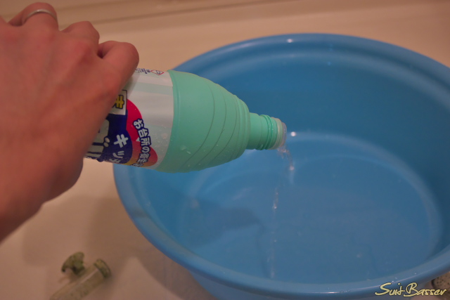 ADAガラス製品の洗浄