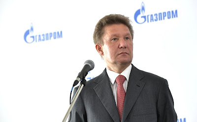 Gazprom CEO Alexei Miller.
