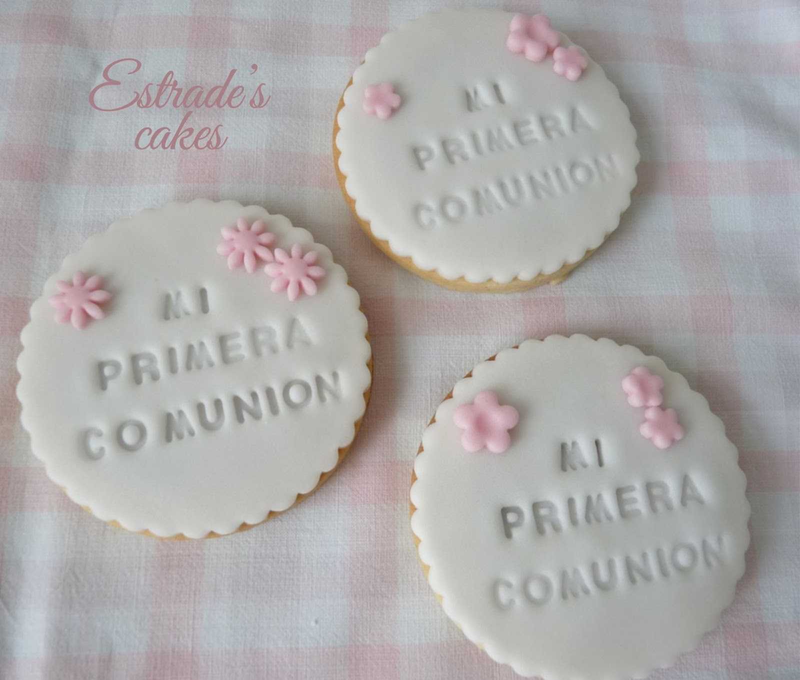 galletas para una primera comunión - 9