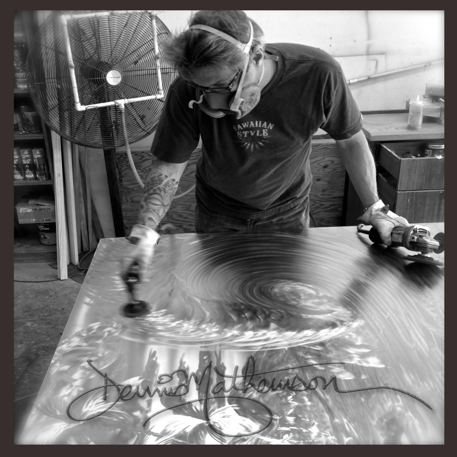 Dennis Mathewson Art And Events Maui Metal Artwork