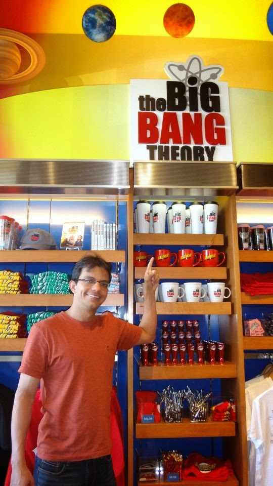 the big bang theory - warner bros - los angeles