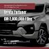 Rental Fortuner di Padang, Sewa Mobil Toyota Fortuner di Padang