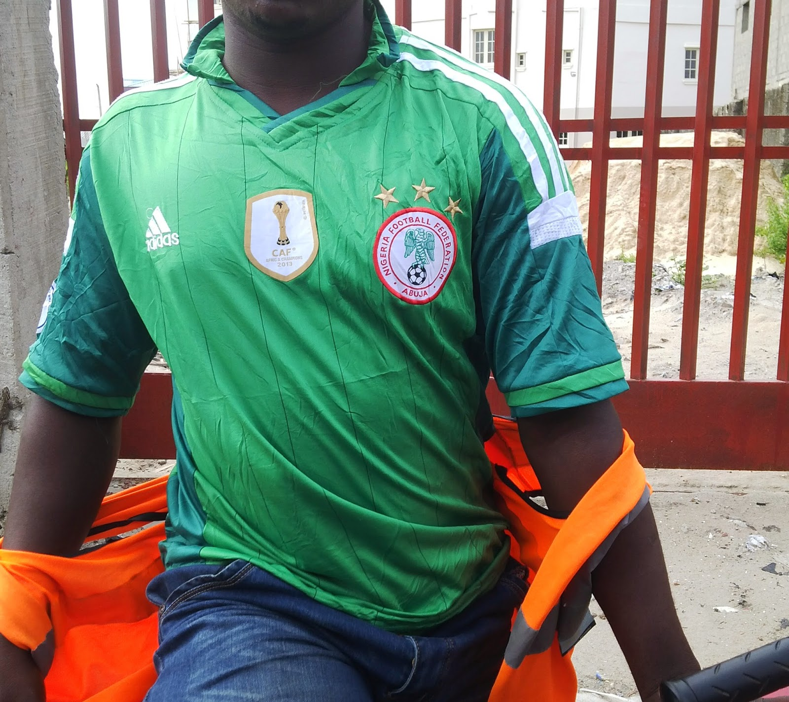 online store 25f12 04830 Colin Udoh - Beyond The Ball Game: Fake Nigeria jerseys go ...