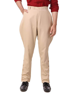 men's steampunk victorian jodhpur pants / trousers