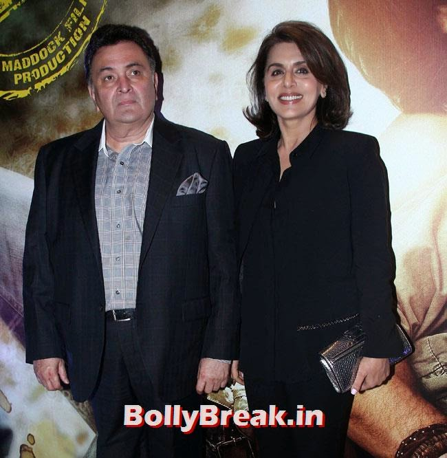 Rishi Kapoor and Neetu Singh, Kareena, Karishma, Deeksha at Lekar Hum Deewana Dil Music Launch