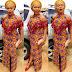 Creative Ankara Aso Ebi Styles Long Gown