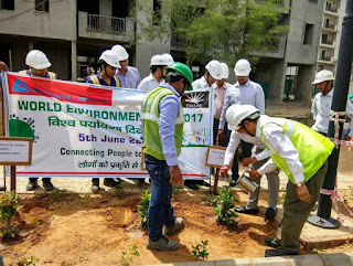 Emaar India celebrates 'World Environment Day' at its project sites in Gurgaon and Mohali