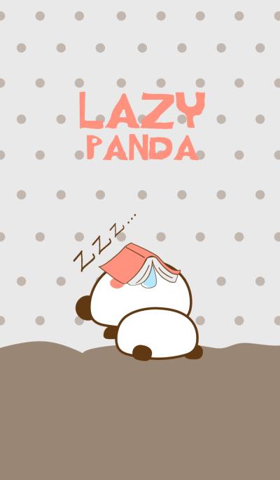 Lazy Panda Cute