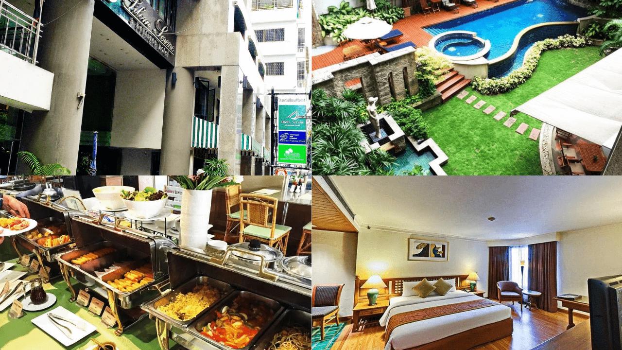 รีวิว!! 15 โรงแรมแถวสีลม 4 – 5 ดาว เดินทางสะดวก ราคาถูกมาก