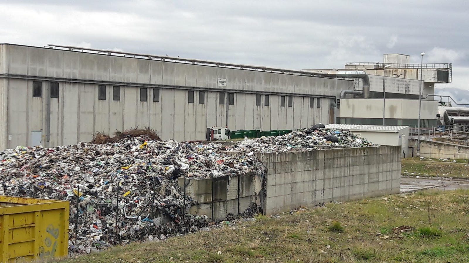 Centroabruzzonews conferimento rifiuti da roma al co ges for Conferimento rifiuti