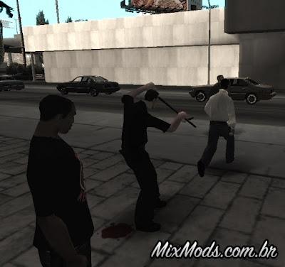 polícia persegue todos gta sa mod