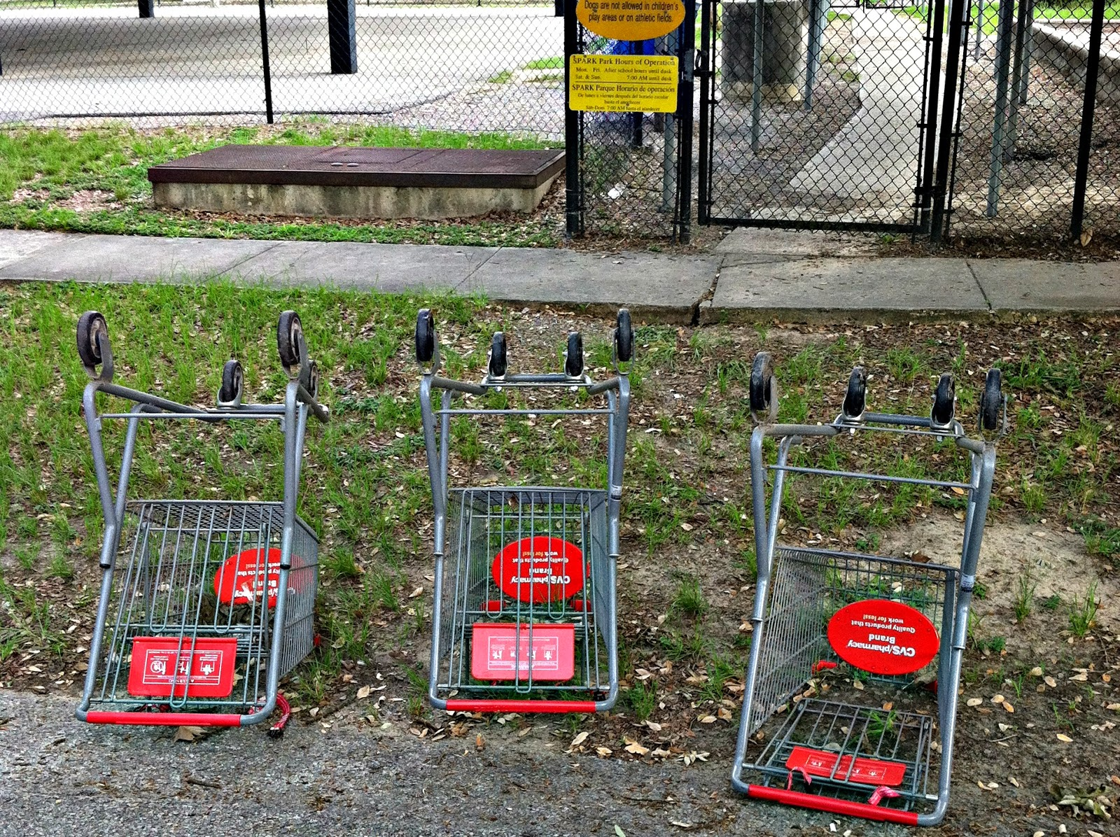 Not of it : The Secret Life Of Shopping Carts: Abandoned Buggies in