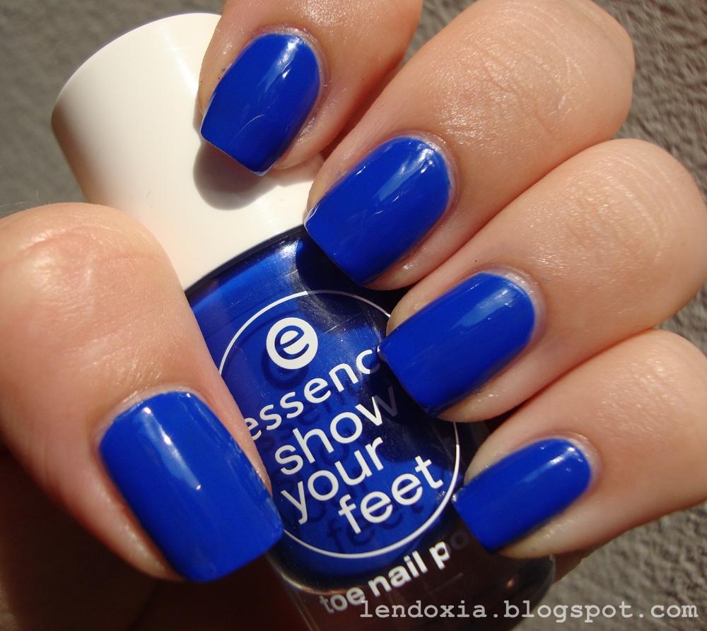 Lendoxia: Electric blue love