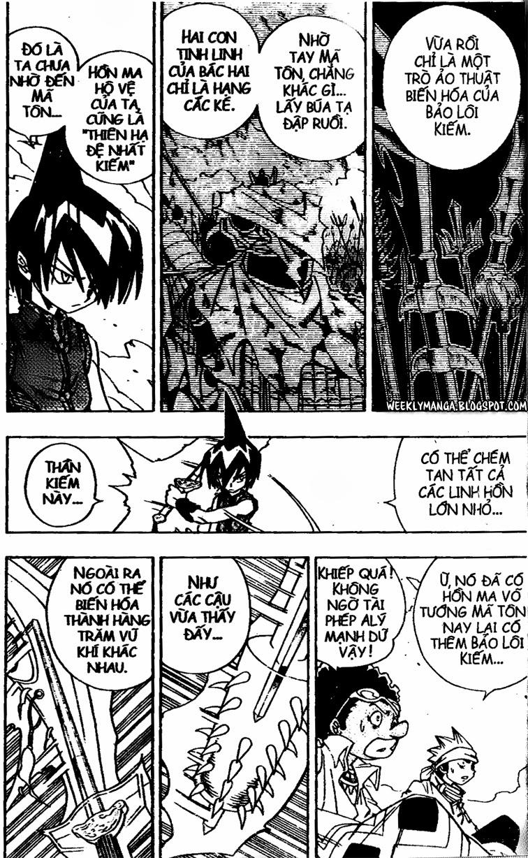 Shaman King [Vua pháp thuật] chap 146 trang 14