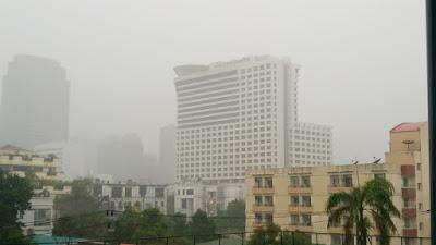 雨季のバンコク
