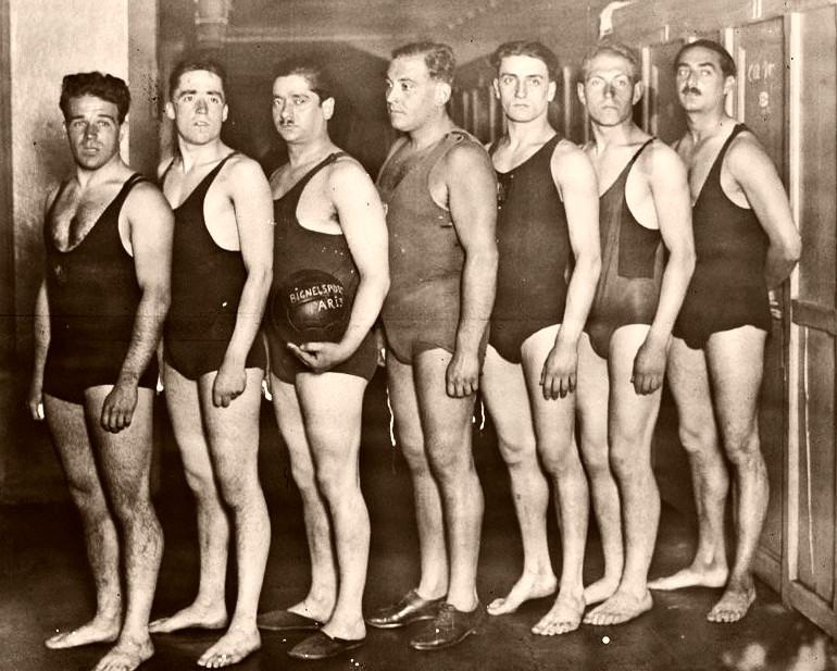 Water polo legends for Piscine hebert