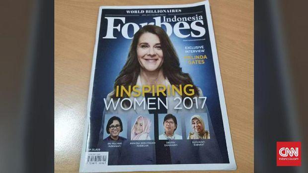"""Anniesa Hasibuan Sukses """"Mejeng"""" Sejajar Sri Mulyani Sebagai Inspiring Women 2017. Ini Penjelasan Tak Terduga FORBES"""
