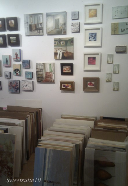 Art interiors - photo of inside the store